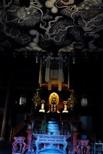 天井画と仏像